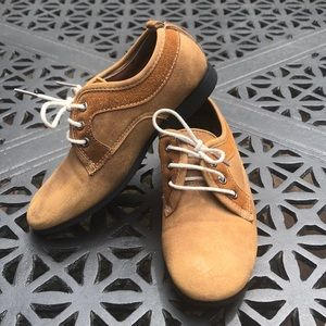 Boys Brown Dress Shoes